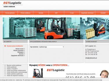 EGTLogistic - wózki widłowe