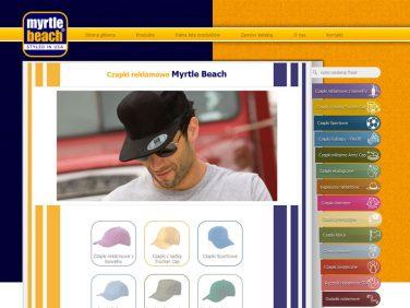Czapki reklamowe Myrtle Beach