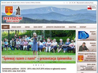 Oficjalna strona gminy Stryszów