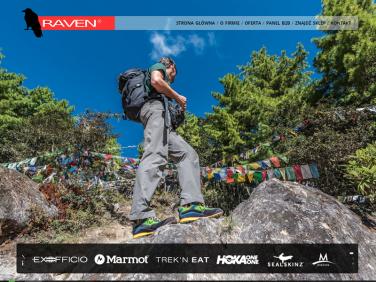 Ravenco - dystrybutor odzieży i obuwia turystycznego