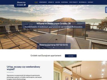 Słoneczny Gródek 38 - Apartament nad Jeziorem Rożnowskim